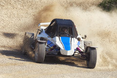 Autocross car off road Stock Images