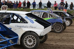 Autocross-kollum Lizenzfreie Stockfotografie