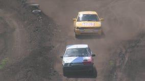 Autocross Mistrzostwo rasy na trudnym śladzie zbiory wideo