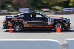 In autocross Stock Photo