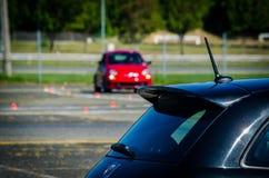 Autocross rusa Arkivbilder