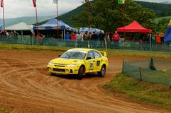 Autocross Royalty Free Stock Images