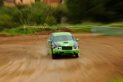 Autocross Royalty Free Stock Photography