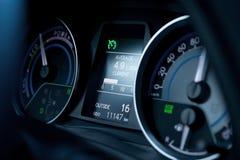 Autodashboard royalty-vrije stock foto