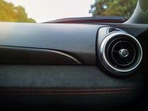 Autodashboard met Ventilatie Royalty-vrije Stock Afbeeldingen