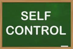 Autodominio, concepto de motivaci?n de las citas de las palabras libre illustration