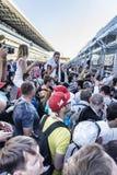 Autodrom de Sotchi, fans Image stock
