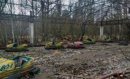 Autodrome dans Pripyat Photographie stock libre de droits