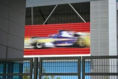 Autodrome de Dubai imagem de stock royalty free