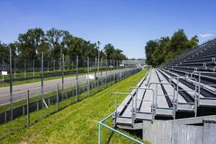 Monza, Italy. The Autodromo Nazionale Monza, a race track located near the city of Monza, north of Milan, in Italy Stock Photos