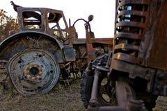 Autodump Stockfoto