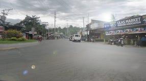 Autoestrada nacional de Davao-Bukidnon em Ulas Fotografia de Stock