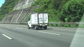 Autoestrada que conduz Taiwan Northbound, POV, 4K vídeos de arquivo