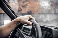 Autofahrer Stockbild