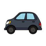 Autofahrzeug lokalisiert Lizenzfreie Stockbilder