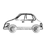 Autofahrzeug lokalisiert Lizenzfreies Stockfoto