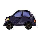 Autofahrzeug lokalisiert Lizenzfreie Stockfotografie