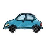 Autofahrzeug lokalisiert Stockbild