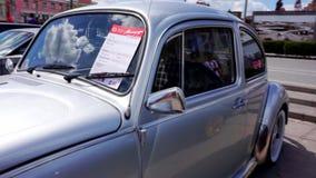 Autofestival in de stad van Tula Russische Federatie De zomer van 2015 stock video
