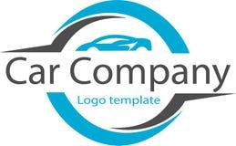 Autofirma und Logobild Lizenzfreie Stockfotos