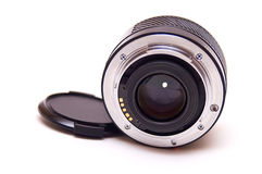 Autofocus lens isolated Stock Image