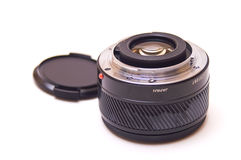 Autofocus lens isolated Royalty Free Stock Photo