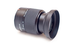 Autofocus lens isolated Stock Photography