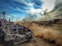 Autofriedhofrennen Lizenzfreie Stockfotos