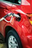 Autogas / LPG pump Royalty Free Stock Photography
