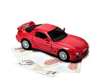 Autogeld lizenzfreie stockbilder
