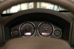 Autogeschwindigkeitsmesser Stockfoto