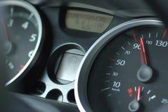 Autogeschwindigkeitsmesser Lizenzfreie Stockfotografie