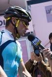 Autogiro d'Italia 2009 - Lance Armstrong Stockfotos
