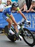 Autogiro d'Italia 2012 - Ivan Basso Lizenzfreie Stockbilder