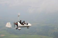 Autogiro del vuelo Imágenes de archivo libres de regalías