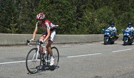 Autogiro Valle Aosta August 2011 Stockfotografie