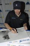 Autografo siging di Seth Wescott Fotografia Stock