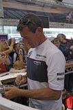 autografu corser wachluje podpisywanie Obrazy Royalty Free