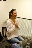 Autographische Barbora Polakova stockbild