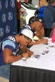 Autographs van Toronto Argonauts het Ondertekenen Royalty-vrije Stock Foto