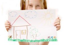 Autoguidez la maison douce Photographie stock libre de droits