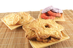 Autoguidez les biscuits effectués Photo libre de droits
