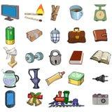 Autoguidez les objets relatifs Photo stock