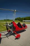 Autogyre rouge d'ouvert-habitacle Photo stock