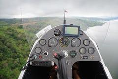 autogyro deska rozdzielcza s Fotografia Royalty Free
