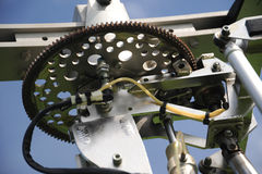 Autogyro rotor head Royalty Free Stock Images