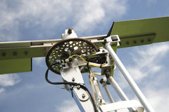 Autogyro rotor head Royalty Free Stock Image