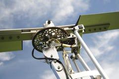 Autogyro rotor head Royalty Free Stock Image