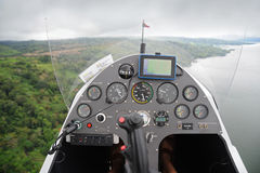 Autogyro's dashboard Royalty Free Stock Photography
