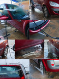 Autohandwaschanlage Lizenzfreie Stockbilder